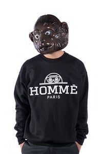 Image of Homme Crewneck - Black