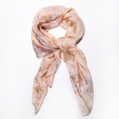 Image of Silk Abstract Floral Scarf (Ltd. Ed.)