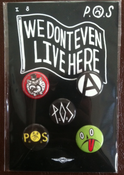 Image of P.O.S. Button Pack