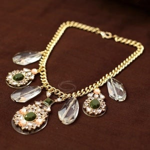Image of Statement Jewel Necklace