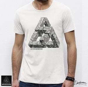 Image of T-shirt homme white SeekSickSound by Iain Macarthur