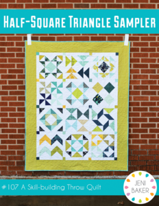 Make Quick Pieced Half Square Triangle Units, Page 2