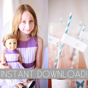 Image of {American Girl Inspired} Party Printables