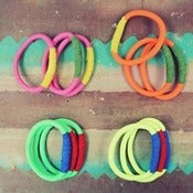 Image of Neon Greek Climbing Rope Bangles