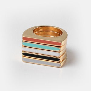 Image of Color Block Rings