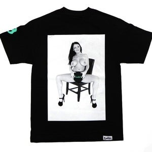"Image of ""Sophie Dee"" collab t-shirt (black)"