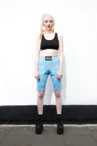 Image of FUCK CYCLING SHORTS