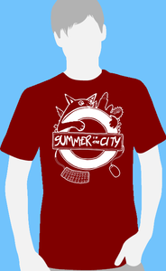 Image of Summer in the City 2013 Cat Tshirt (Red)