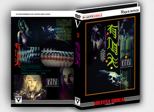 Image of [LIMITED 50] Cosmotropia de Xam - Ekstasia (Design B) DVDR/CDR BOX