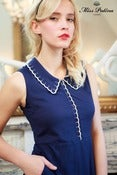 Image of Deary Diary Dress (navy)