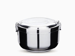 Image of NEW! Stainless Steel Double Layer Food Storage Container