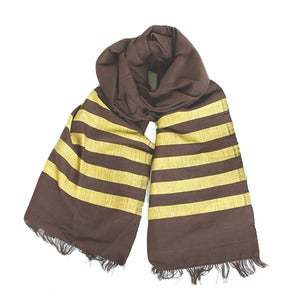 Image of Chocolate/Gold Scarf