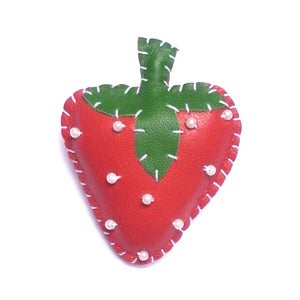 Image of Strawberry Brooch