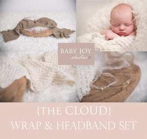 Image of {the Cloud} Wrap & Headband SET
