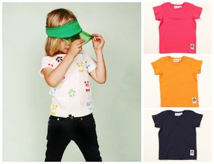 Image of Mini Rodini - Panda Rib Tee