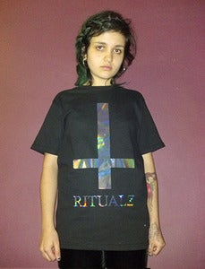 Image of ANTICHRIST HOLOGRAM SHIRT