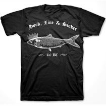 Image of HOOK, LINE AND SINKER tee shirt