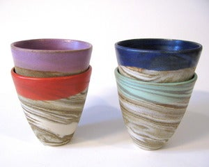 Image of Marbled Rainbow Tumbler