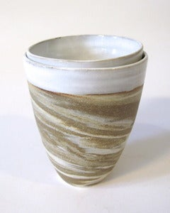 Image of Marbled Nesting Cup Set