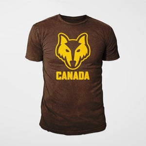 Image of Canada Tee - Wolf