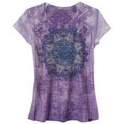Image of prAna Chai T-Shirt -  Mandala print Dahlia 