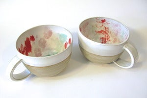 Image of Oversized Tie-Dye Mug