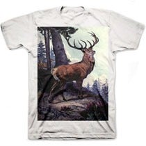 Image of RED DEER tee shirt