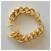 Image of Hooked Anchor Bracelet