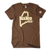 Image of HikeME T-Shirt (Brown)