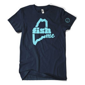 Image of FishME T-Shirt (Navy)