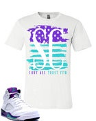 Image of Grape Flag Tee