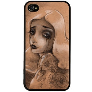 Image of Rose White Phone Case