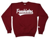 Image of Script Logo Crewneck - Cardinal Red