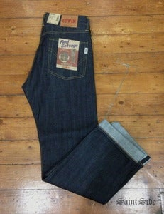 Image of Edwin - Nashville Red Selvage Unwashed Denim