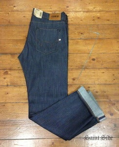 Image of Edwin - ED80 Slim Fit Selvage Unwashed Denim