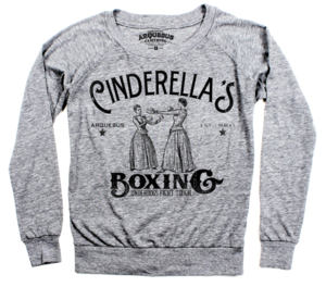 Image of Cinderella Boxing-Ladies Pullover