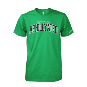 Image of World Class Aphillyated Arch Tee (Kelly Green)