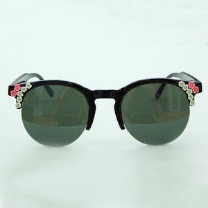 Image of Mint Flower Customised Sunglasses 