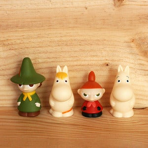 Image of Moomin plastic figurines