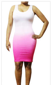 Image of Cotton Candy Ombre Dress