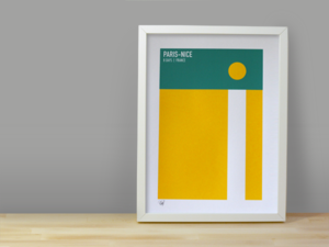 Image of PARIS-NICE SCREENPRINT