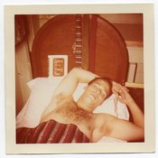 Image of MAN ASLEEP EYES CLOSED LETTERS TO A YOUNG POET BOOK ON BED SNAPSHOT PHOTO