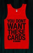 Image of YDWTC RED/BLACK TANK TOP