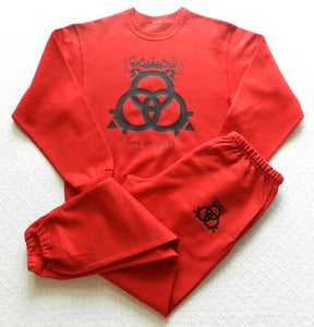 Image of True Red Crewneck Sweatshirt & Sweatpants