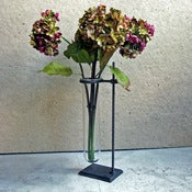 Image of test tube vase with stand