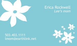 Image of Erica Calling Cards