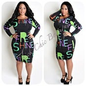 Image of SHINE Body Con Dress