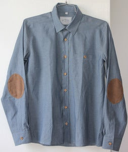 Image of SEN NO SEN denim shirt