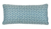Image of Scalamandre Collection- Castleton Blue Bolster
