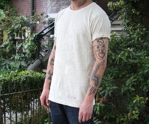 Image of Dailymovement Spring/Summer '13 Men's Speckled T-shirt [Cream]